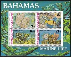 Bahamas MiNr. Bl. 20 ** Meeresfauna - Bahamas (1973-...)