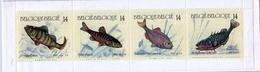 Belgien MiNr. 2435/38 MH 31 ** Fische - 1990-1993 Olyff