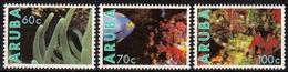 Aruba MiNr. 73/75 ** Fauna Und Flora Des Meeres - Briefmarken