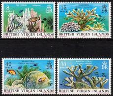 Britische Jungferninseln MiNr. 333/36 ** Korallen - Briefmarken