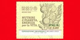 """Nuovo - MNH - ITALIA - 2015 - Expo Milano 2015 - Xilografia Tratta Dal Testo """"Della Agricoltura - 0,80 - 6. 1946-.. Repubblica"""