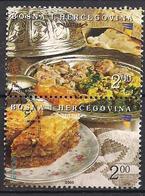 Bosnien - Herzegowina (2005)  Mi.Nr.  389 + 390  Gest. / Used  (7fc50)  EUROPA - 2005