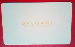 Bulgari Shanghai - Chiavi Elettroniche Di Alberghi