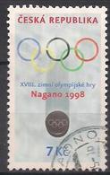 Tschechien  (1998)  Mi.Nr.  166  Gest. / Used  (7fc57) - Tschechische Republik