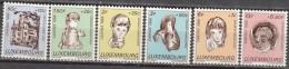 Luxembourg 1968 Michel 779 - 784 Neuf ** Cote (2008) 3.50 Euro Caritas - Neufs