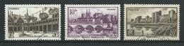 FRANCE 1941 . N°s 499 , 500 Et 501 . Oblitérés . - France