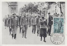 Carte  Maximum  1er   Jour   FRANCE   Retour  Des   Déportés   1965 - 1960-69