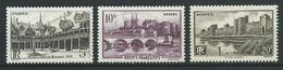 FRANCE 1941 . N°s 499 , 500 Et 501 . Neufs ** (MNH) - France