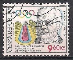 Tschechien  (1996)  Mi.Nr.  105  Gest. / Used  (8fc37) - Tschechische Republik