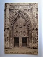 FRANCE - CALVADOS - HONFLEUR - Portail De L'Eglise Saint-Léonard - Honfleur