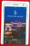 Four Seasons Budapest - Hotelsleutels (kaarten)