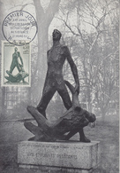 Carte Maximum  1er  Jour   FRANCE  XXéme  Anniversaire  De  La  Libération  Déportation  Résistance   1964 - Cartes-Maximum