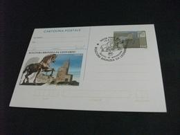 CARTOLINA POSTALE SCULTURA BRONZEA DA LEONARDO DA VINCI CAVALLO HORSE - Sculture