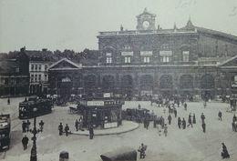 Lille La Gare Tram, Attelages Et Automobiles - Lille