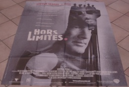 AFFICHE CINEMA ORIGINALE FILM HORS LIMITES Steven SEAGAL DMX BARTKOWIAK 2001 TBE - Affiches & Posters