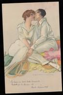 CPA ILLUSTRATORE  MARCELLO DUDOVICH CIRCOLATA 1920 SERIE 94 - Illustratori & Fotografie