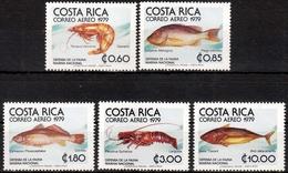 Costa Rica MiNr. 1024/28 ** Fische - Costa Rica