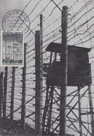 Carte Maximum  1er  Jour   FRANCE  XXéme  Anniversaire  De  La  Libération  Déportation  Résistance   1964 - 1960-69