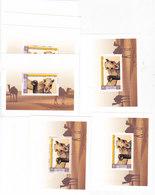 QATAR 199- Souvenir Sheets Camels X 9- MNH- Reduced Price- SKRILL PAY - Qatar