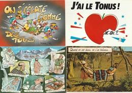 Lot De 40 Cartes Humoristiques - Ansichtskarten