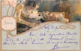Spectacle - Théâtre -  Art Nouveau - Tosca - Verdi - ILLUSTRATORI LEOPOLDO METLICOVITZ - Spectacle