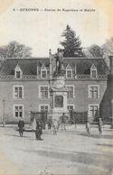 Auxonne (Côte D'Or) - Statue De Napoléon Et Mairie - Carte N° 4 Non Circulée - Auxonne
