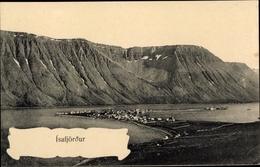 Cp Isafjördur Island, Panorama - Islande