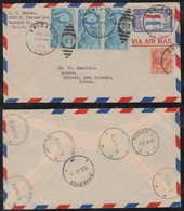 USA 1946 Airmail Cover CHICAGO To WITKOWO GNIEZNO Poland - Luftpost
