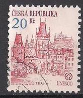 Tschechien  (1993)  Mi.Nr.  18  Gest. / Used  (6fc31) - Tschechische Republik