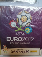 Euro 2012 Album Vuoto Panini, Ottimo Poland Ukraine Uefa - Panini