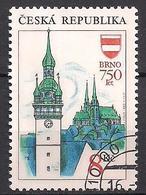 Tschechien  (1993)  Mi.Nr.  9  Gest. / Used  (5fc09) - Czech Republic