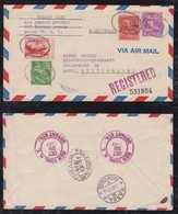 USA 1947 Airmail Cover BRONX To BASEL Switzerland - Luftpost