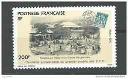 "Polynésie YT 421 "" 1er Timbre Des EFO "" 1992 Neuf** - Polinesia Francese"