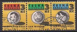 Tschechien  (1995)  Mi.Nr.  67 - 69  Gest. / Used  (5fc12) - Tschechische Republik