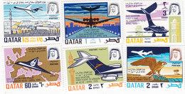 QATAR 1970 Aviation 6 Stamps Compl.MNH - Reduced Pr. SKRILL PAY - Qatar