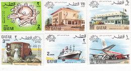 QATAR- 1970 UPU - 6 Stamops MNH- Reduced Price- Skrill PAY ONLY - Qatar