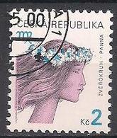Tschechien  (2000)  Mi.Nr.  257  Gest. / Used  (5fc24) - Czech Republic