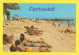 CPSM  Plage Des Tritons DJIBOUTI  (scan Recto-verso) - Gibuti