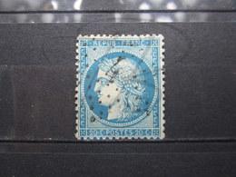 """VEND TIMBRE DE FRANCE N° 37 , OBLITERATION ETOILE DE PARIS  """" 4 """" !!! - 1870 Siège De Paris"""