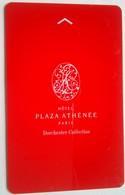 Plaza Athenee Paris - Hotelsleutels (kaarten)