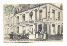80 - SAINT-VALERY-sur-SOMME - Hôtel De La Colonne De Bronze - Belle Animation - Saint Valery Sur Somme