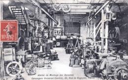 75 - PARIS 20 - Compagnie Universel Electric - 35 Rue De Bagnolet - Atelier De Montage Des Dynamos ( Industrie ) - Arrondissement: 20