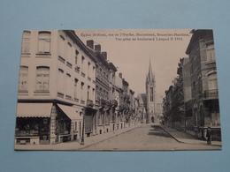 Eglise St.Remi, Rue De L'Ourthe MOLENBEEK ( Cliché Vander Camp ) Anno 19?? ( Voir / Zie Photo ) ! - Molenbeek-St-Jean - St-Jans-Molenbeek
