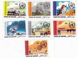 QATAR 1973, Meteo Orgamnization 7 Stamps MNH- Cpl.set - Reduced Price - SKRILL ONLY - Qatar