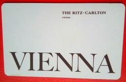 Ritz Carlton Vienna - Hotelsleutels (kaarten)
