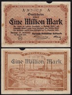 Dornap Kr.Mettmann 1 Million Mark Kalkwerke Gutschein/Notgeld 1923  (14848 - Germania