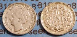 Niederlande NEDERLAND 10 Cent Silber 1939   (b478 - Niederlande