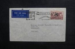 AUSTRALIE - Enveloppe De Sydney Pour Bradford En 1948, Affranchissement Plaisant - L 38255 - Marcophilie