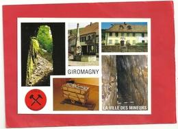 CPM . GIROMAGNY .  MULTIVUES  . CARTE ECRITE AU VERSO - Giromagny