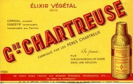 Buvards- La Grande Chartreuse, élixir Végétal - Schnaps & Bier